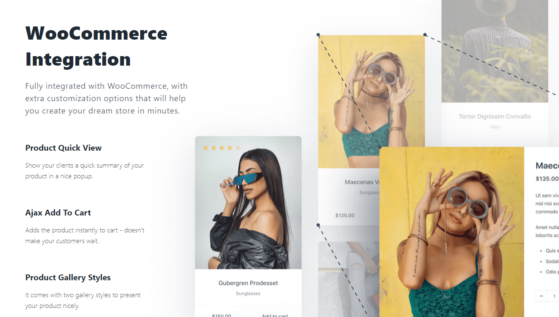 Blocksy theme WooCommerce integration