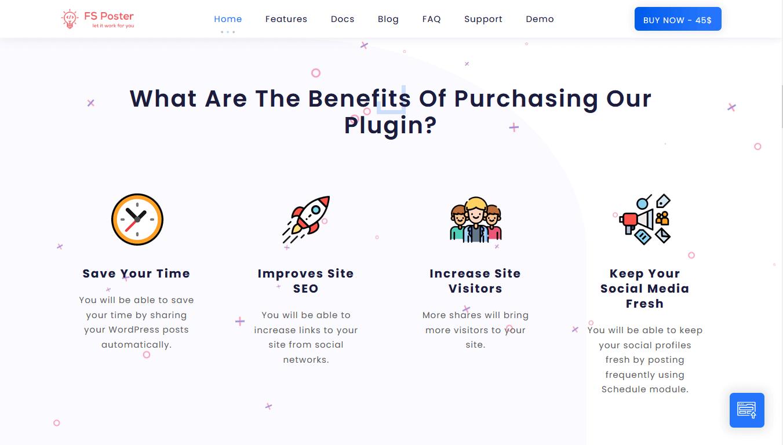 FS poster benefits