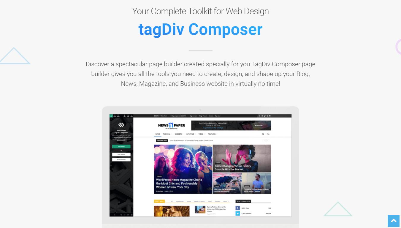 Newspaper theme tagDiv Composer
