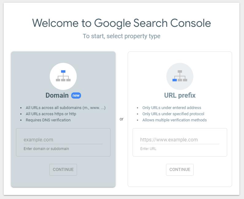 Use Google Search Console