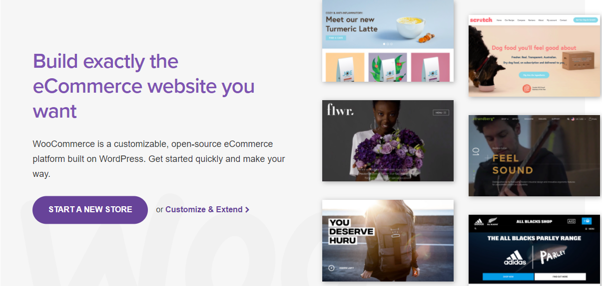 Woocommerce is the widely known free e-commerce plugin in the world.