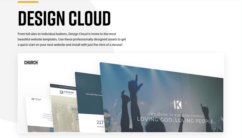 X theme Design Cloud