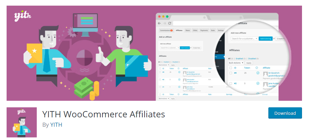 YITH Woocommerce is an effective tool. It is a very convenient plugin to increase visibility and keep new customers loyal to your website.