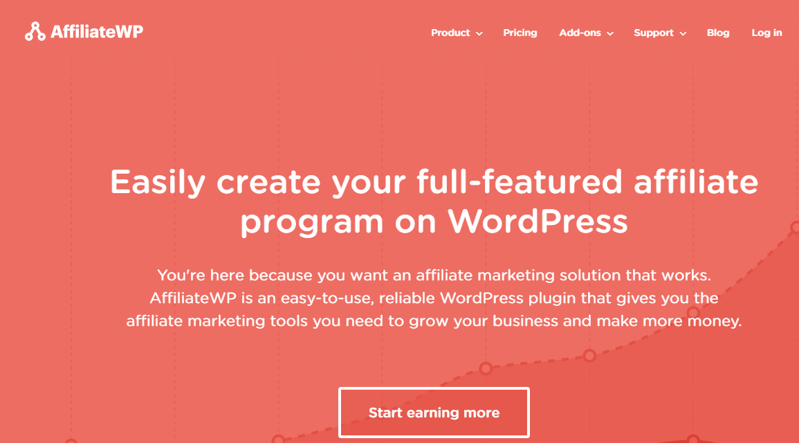 Affiliate WP provides a shared management system for a WordPress site.