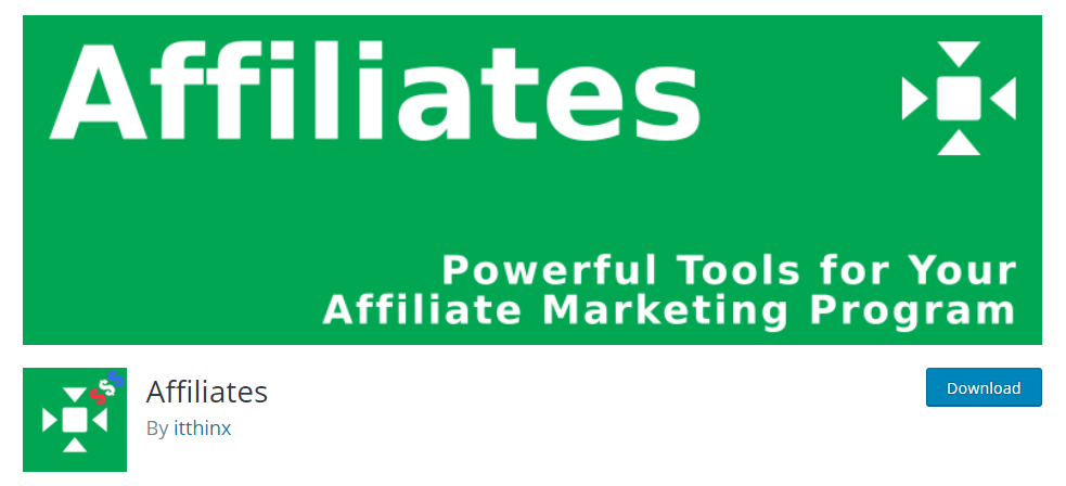 Affiliates is an excellent tool for managing a successful Affiliate Marketing campaign on WordPress.